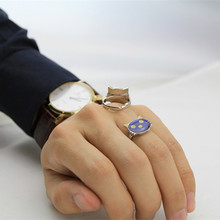 Fine Jewelry HOTsale MOOD RING Present For Girlfriend Children Guest Change Color Temperature Ring Emotion Feeling Rings Mood