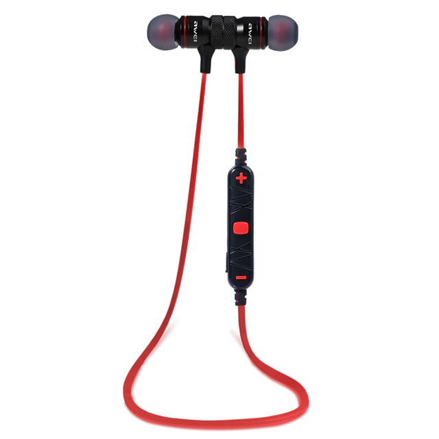 Original Awei A920BL In-ear Wireless Sports Earphone Bluetooth 4.0 Connection with Voice Noise Reduction Mic for Running