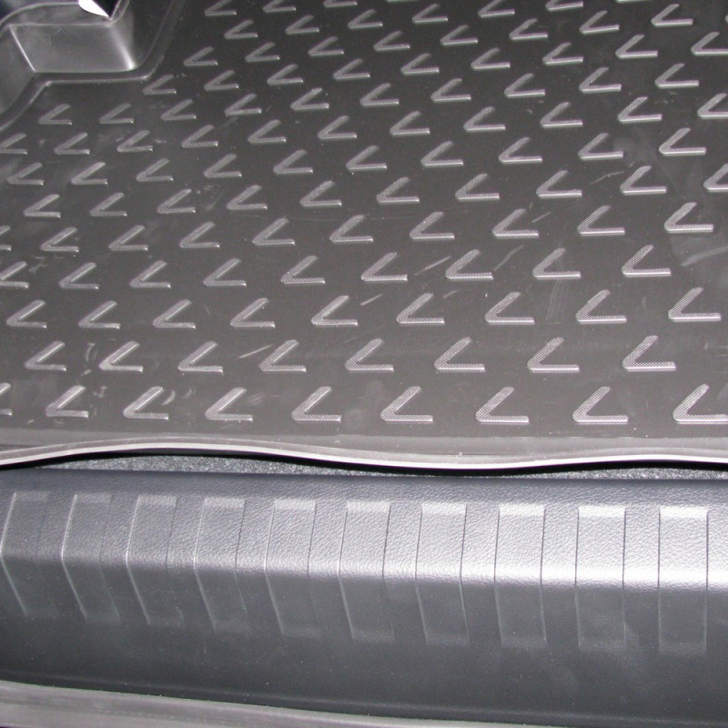 Mat rear trunk lid cover trim For LEXUS GX 460 02/2010-> внед., lengths. (polyurethane) mat trunk for nissan patrol 2010 внед lengths polyurethane