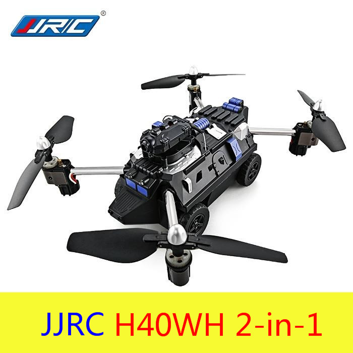 Original JJRC H40WH 2 in 1 RC Flying Tank Quadcopter RTF WiFi FPV 720P HD One