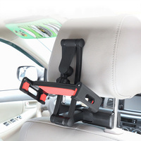 Portable Car Aluminum Phone Holder Stand For iPad Tablet Car Back Seat Headrest Phone Stand