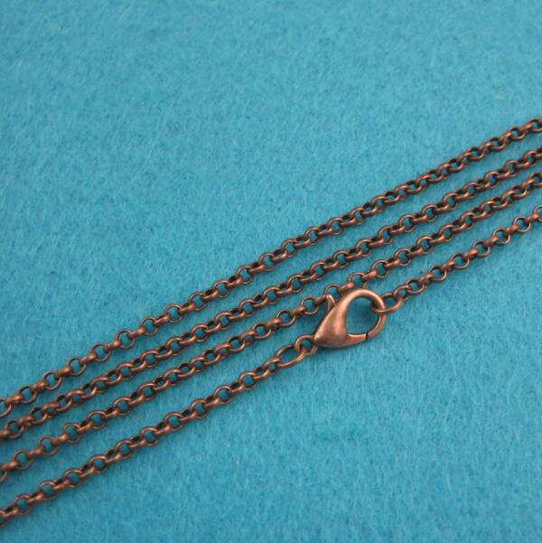 Ordine su ordinazione: Cerchio/Ovale Link Catene e Catene di Corda-in Ciondoli da Gioielli e accessori su  Gruppo 1