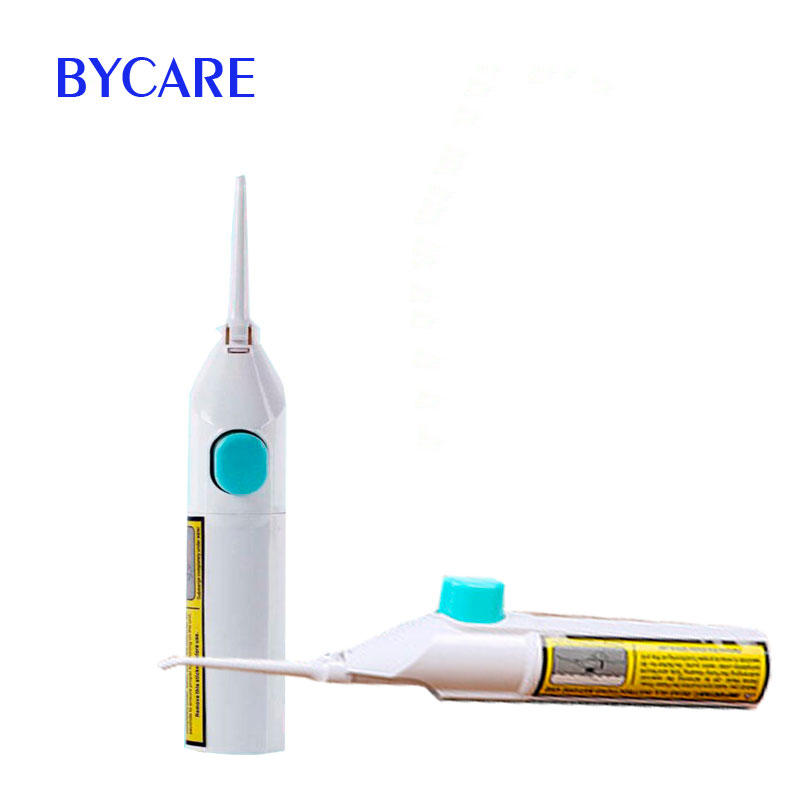 BYCARE Manual Dental Spa oral irrigator teeth care for Adult water floss for teeth clean new oral irrigator dental floss care implement pressurre water flosser irrigation hygiene teeth cleaning