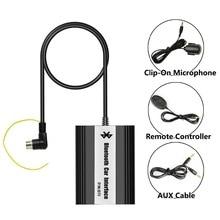 Adaptador de Coche Bluetooth Manos Libres Integrado Interfaz USB Jack AUX para S60 Volvo HU 1999-2009