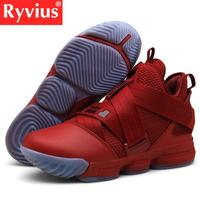 Ryvius 2019 Hot Sale Basketball Shoes Comfortable High Gym Training Boots Ankle Boots Outdoor Men Sneakers Athletic Sport Shoes