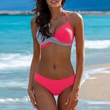 9d2f6bc37d Sexy Swimwear Summer Beach Wear Bikini Set Women Push Up Bikinis Swimming  Suit Woman Biquini Bathing