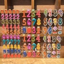 3pcs/lot Numeral Letter Cartoon Animal Scrapbook Decoration PVC Stationery Stickers Adesivo De Papel De Carta (DB-STST-1)