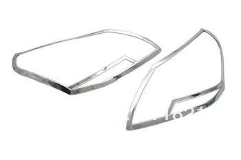 Styling mobil Chrome penutup kepala ringan untuk Toyota Verso MPV