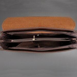 Image 3 - المحمولة اليد العمل مكتب الأعمال الذكور حقيبة ساعي بريد للرجال حقيبة للوثائق حقيبة حقيبة حقيبة محفظة الأعمال