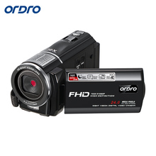 Big discount Ordro HDV-F7 FHD 1080P Digital Video Camera 16 Digital Zoom Touch Screen 24MP 5MP CMOS Night Vision Function WIFI Camcorder DV