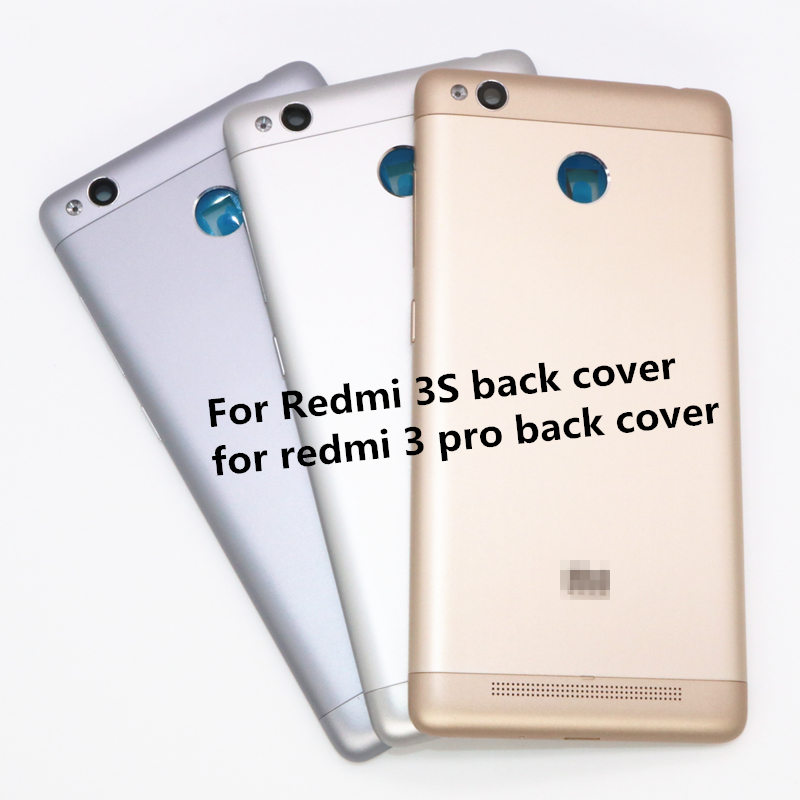 For Xiaomi <font><b>Redmi</b></font> <font><b>3S</b></font> Back <font><b>Cover</b></font> For <font><b>Redmi</b></font> 3 Pro Prime <font><b>Battery</b></font> <font><b>Cover</b></font> Housing Door Case image