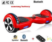 brand 6 5 hover board Bluetooth skateboard Self balancing Electric Scooter 2 Wheel unicycle Standing Smart