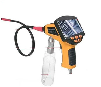 4.3 Inch Big LCD Display Air Conditioner Cleaning Endoscope Sparying AV Hnadheld Endoscope