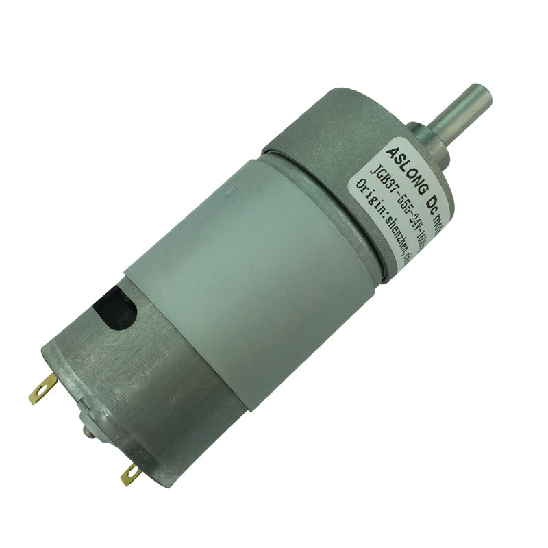 JGB37-555 Gear <font><b>Motor</b></font> DC Gear <font><b>Motor</b></font> Low Speed High Torque 6V 12V 24V <font><b>36V</b></font> 10RPM-1280RPM image