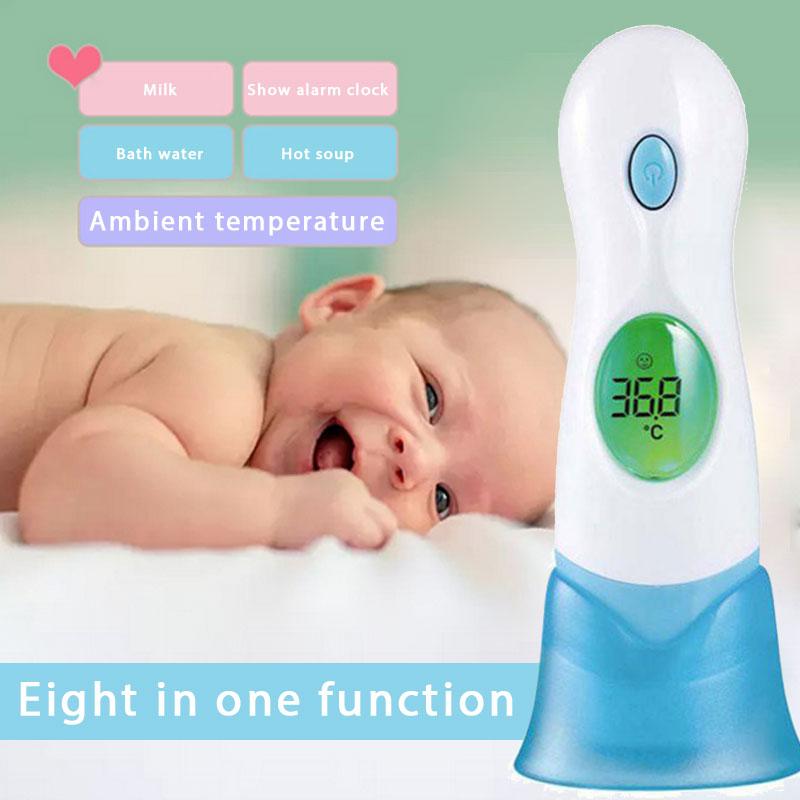 Термометр мягкий ЛОБНЫЙ термометр Детский термометр 8 в 1 Домашний Уход за ребенком милый взрослый младенец здоровье Цифровой Детский лихорадка