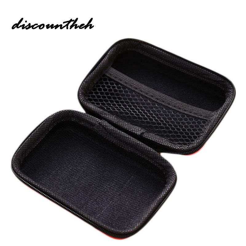 Portable Coin Purses Storage Bag Case For Earphone EVA Headphone Case Container Cable Earbuds Storage Box Pouch Bag Coin Holder miles kimball flour bag plastic storage container