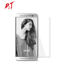 Оптовая продажа 2.5D 9 H Экран протектор Закаленное Стекло Плёнки чехол для HTC один m7 M8 M9 M10 One e8 e9 s9 высокого качества защитный Плёнки