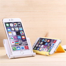 Universal Cell Phone Portable Adjustable Plastic Desk Stand Holder For Tablet Phone Stand for Samsung S7 Huawei HTC