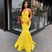 a298ce4463 High Quality Yellow Mermaid Dresses Promotion-Shop for High Quality ...