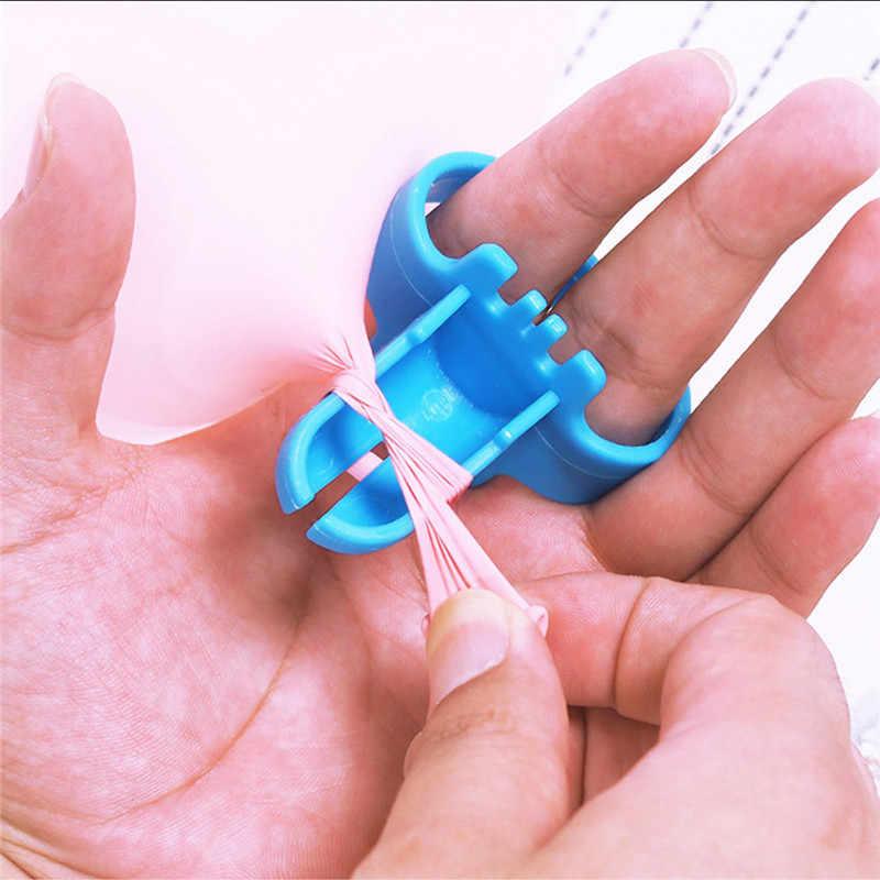 Dropshipping 4 cores fontes de festa de casamento decorações de festa de aniversário crianças adulto balões de aniversário suporte nó amarrando ferramenta