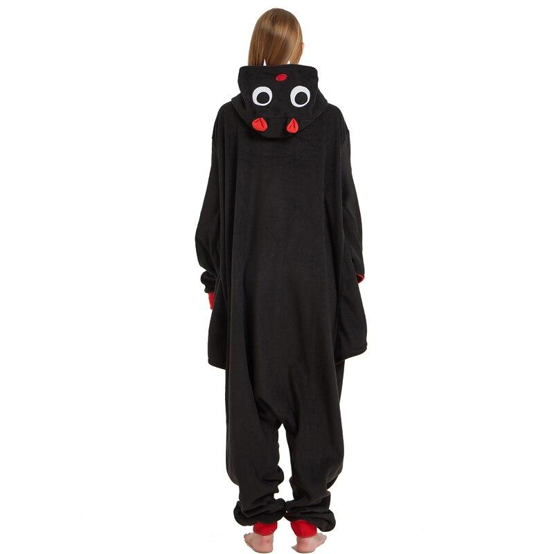 Cool Bat Polar Fleece Kigurumi Pajamas Overall Costume Warm Cartoon Onesie For Adult Halloween Carnival Masquerade Cosplay Party (2)