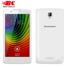 Original Lenovo A2860 Smartphone 4.5″ 480×854 MT6735 Quad Core Android 4.4 GPS 512MB RAM 4GB ROM 5.0MP Camera  Dual Micro SIM