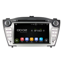 for hyundai TUCSON/IX35 2009- android 7.1.1 system HD 1024*600 car dvd player gps navigation radio 3G wifi dvr free map camera