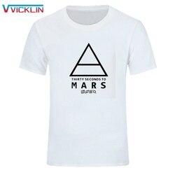 Trente secondes à Mars 30STM t-shirts hommes 2018 mode Logo imprimé coton t-shirt à manches courtes col rond Rock Band