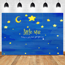 NeoBack Twinkle Little Star Backdrop Birthday Baby Shower Banner Background Night Children Room Decoration