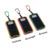 Venda quente Solar Portátil Banco Do Poder 10000 mAh Dupla Portas USB externo Carregador de Bateria Solar Para A Câmera Do Telefone Tablet VHG44 T15 0.3