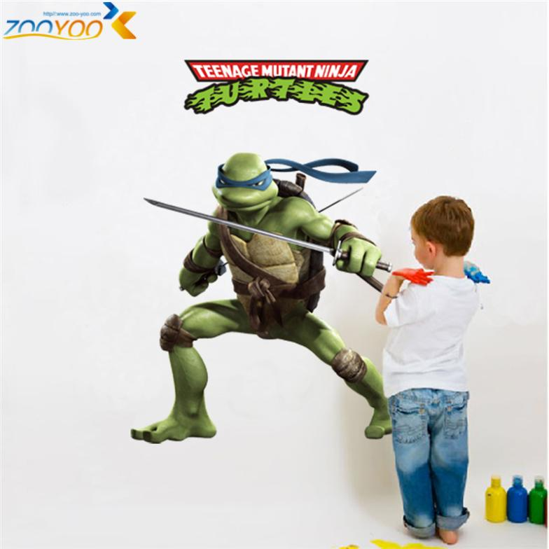 memories of childhood teenage mutant ninja turtles wall decals zooyoo031 decorative stic ...