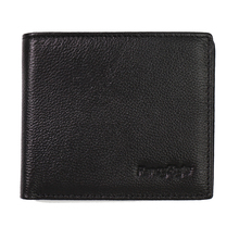 RFID ID Identity Credit Card Blocking Leather Wallet Slim Black Security Bifold