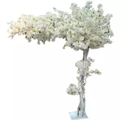 180 см высокие свадебные белый персик Искусственная елка/cherry blossom дерево Свадебные украшения дорога ведет реквизит для торжественных событи