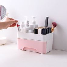 050 Fashion Minimalist drawers 14 cases storage boxes cosmetic lipstick rack Cosmetic box  22.3*14*12.5cm
