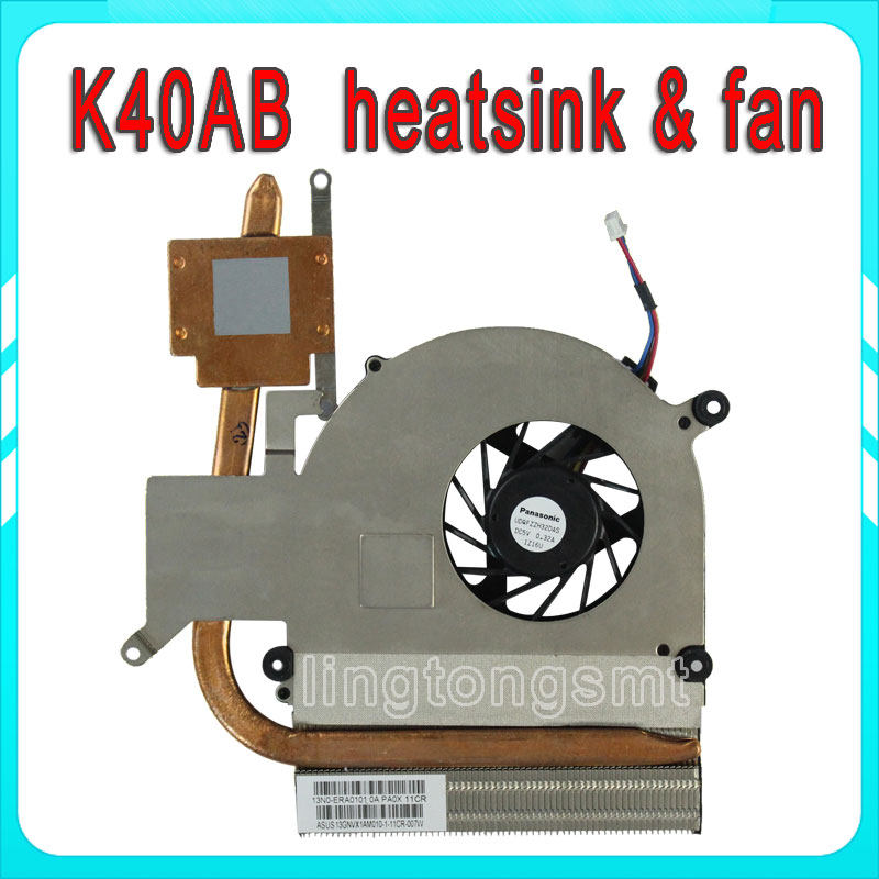For ASUS DELTA KDB0705HB -9K57 LAPTOP CPU FAN K40 heatsink & fan K40AB K40IN K40AF K50 K50AD K50AB A41 A41I CPU Cooling fan hotpoint ariston hb 0705 ac0