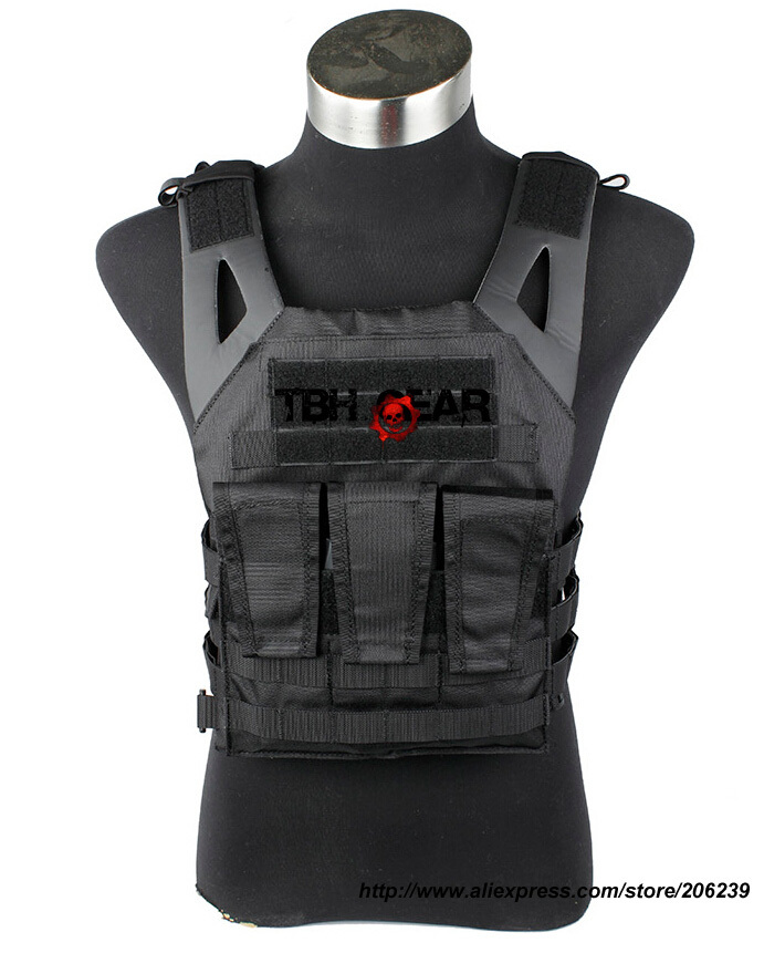 TMC JPC Vest Jump Plate Carrier 1000D Nylon Tactical Vest+Free shipping(SKU12050592) tmc field shirt