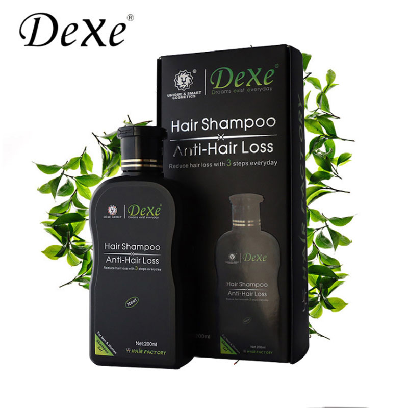 Dexe Professional Shampoo for Hair Loss Anti-hair Loss Chinese Herbal Hair Growth Product Prevent Hair Treatment for Men & Women