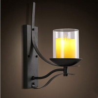 LED Retro Loft Industrial Vintage Wall Lamp Fixtures For Bar Home Hanging Lighting Wall Sconce Arandela