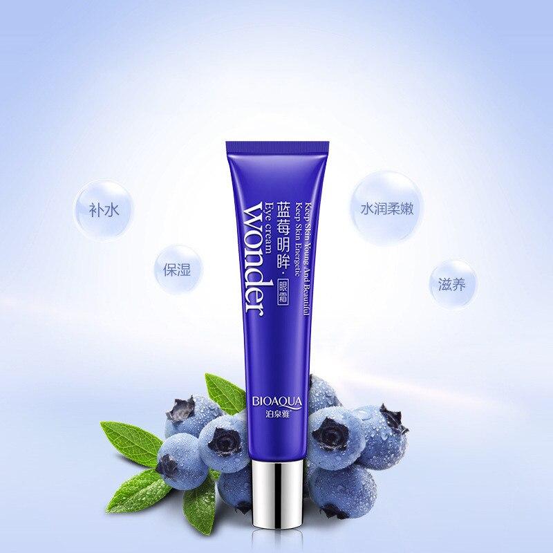 BIOAQUA Blueberry Lighting Eyes Gel Anti Wrinkle Eye Cream Anti-Puffiness Dark Circle Anti-Aging Moisturizing Eye creams 5