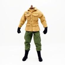 1/6 Scale Uniforms Accessories  Clothes Airborne Soldier Uniforms set For 12