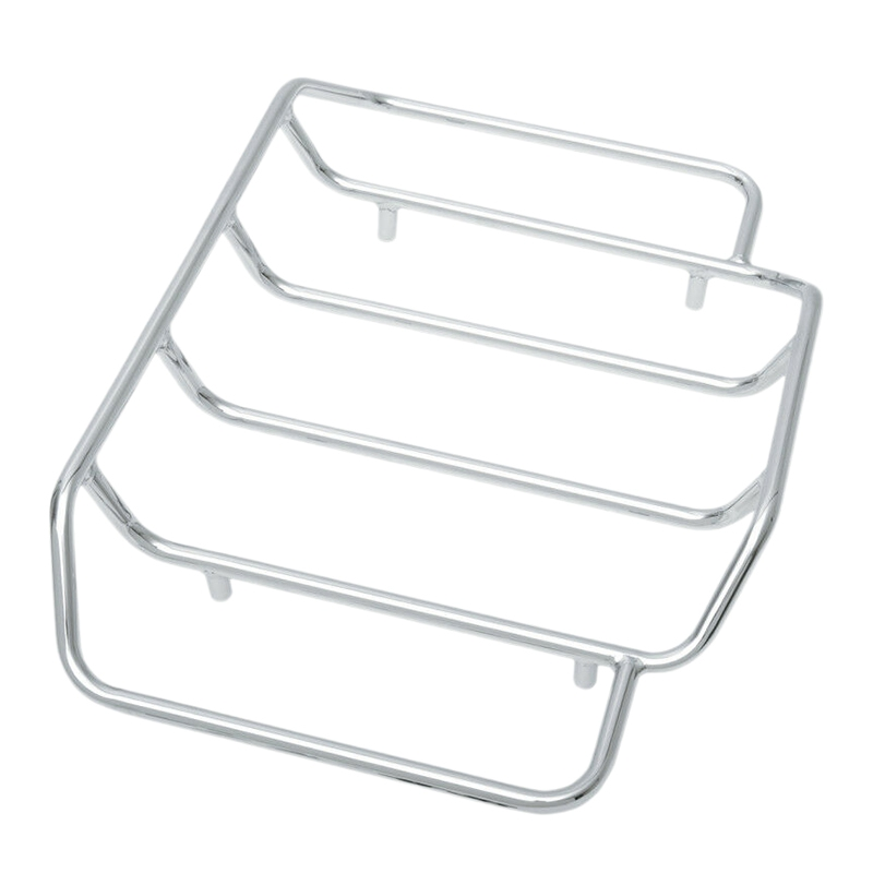 Chrome Pak Luggage Rack for Harley Tour 1984-2018 Harley Dresser Models