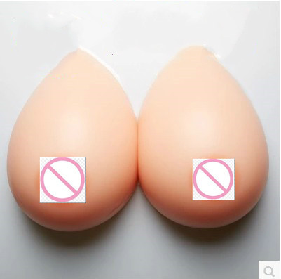 B D Cup Cosplay Fake Boobs False Breasts Artificial Breast Crossdresser Queen Transgender Silicone Breast Forms Teardrop Shape