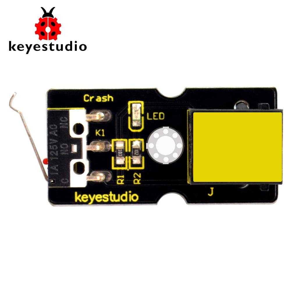 Keyestudio RJ11 EINFACHE plug Kollision Crash Sensor Modul für Arduino DAMPF