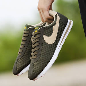 Men Sneaker Green Mix Color Sport Superstar Smithe Low Cortez Classic  Leather Walking f3525643f