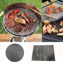 BBQ Grill Mat Mat Nonstick Pad Fiberglass Grill Pad Grill Foil Tool BBQ Magic Grill Mat Drop shipping #XG30