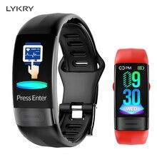 LYKRY P11 ECG Smart band watch Heart Rate Monitor PPG Smart
