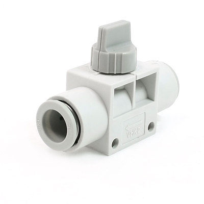 12mm to 12mm One Touch Fitting Pneumatic Quick Connector Hand Valve black 12mm push in one touch pneumatic quick fitting