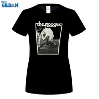 GILDAN Style S T Shirts High Quality Tees Iggy And The Stooges Rock Pop Music 100