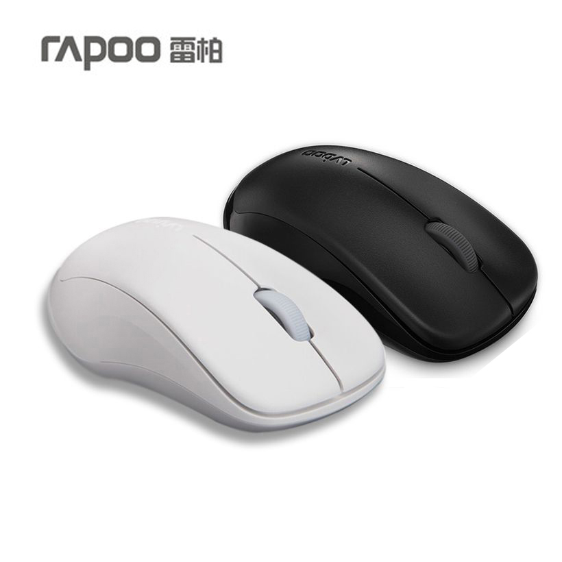 Rapoo 1680 Noiseless Mouse Optical Silent Click 2.4GHZ Wireless USB 1000DPI Mice car model style wireless 2 4ghz optical 1000dpi mouse silver black 2 x aaa