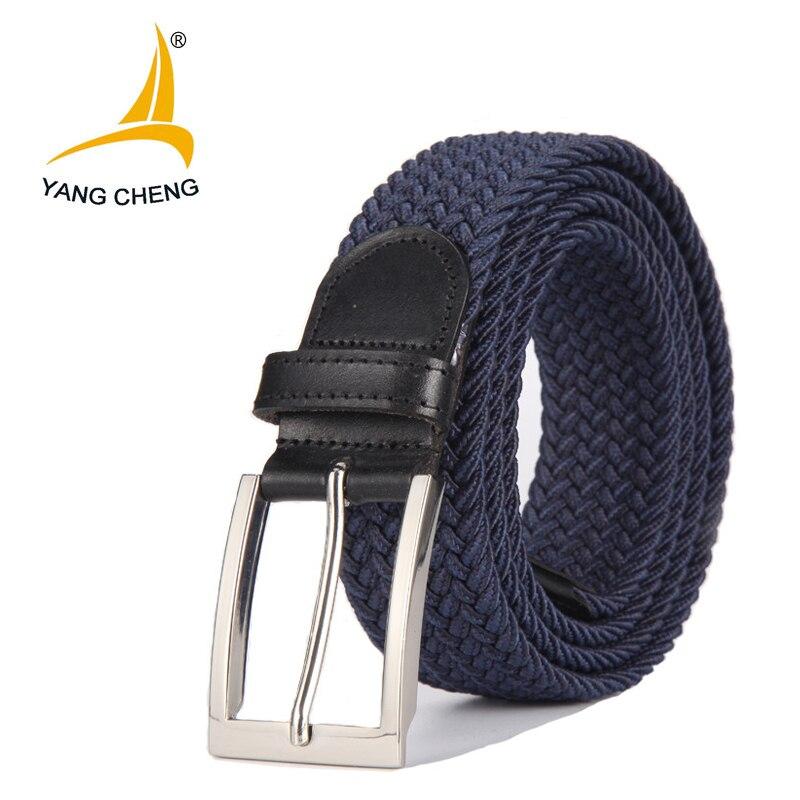 [CNYANGCHENG] Pin buckle belt for men and women luxury male strap belts cummerbunds designer corset belt for women